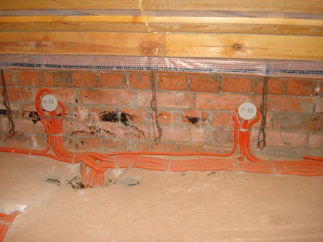 Электропроводка в кирпичном доме своими руками